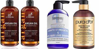 shampoo para la perdida y crecimiento del pelo de los hombres