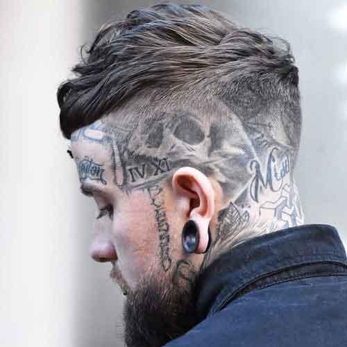 peinado french crop texturizado con laterales afeitados