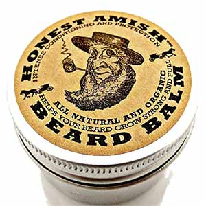 balsamo de barba honest amish