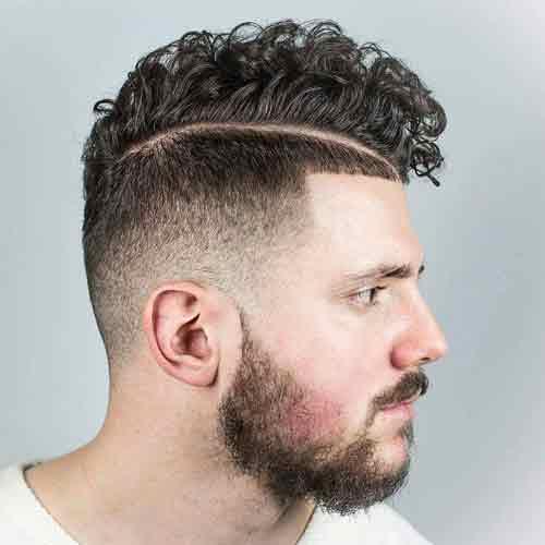 Peinados hombre rizado 2018