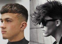 corte de pelo flequillo para hombre