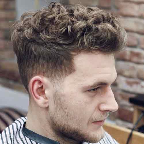 Cortes de pelo para hombres con rizos