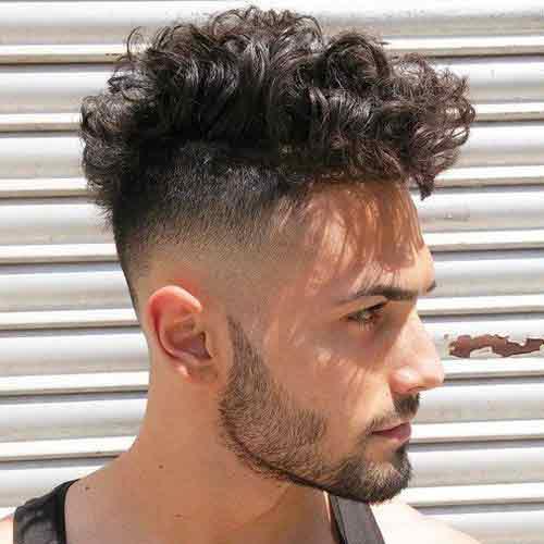 Corte de pelo hombre pelo chino