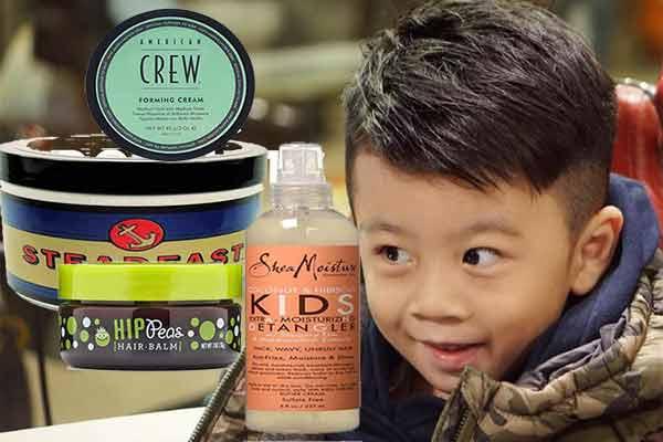 producto para el cabello de los niños