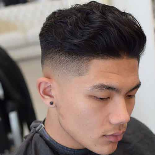 peinado-ondulado-hacia-atras-y-low-skin-fade