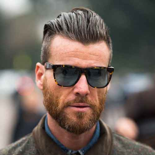 barba corta para hombres
