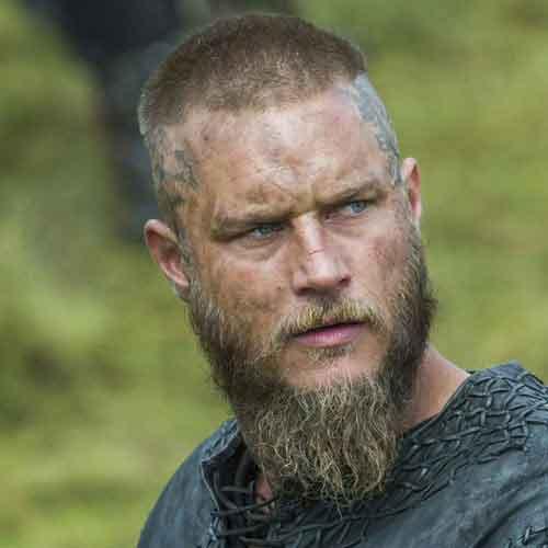 barba ducktail cola de ganso para hombres
