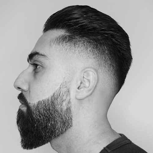 barba full llena para hombres