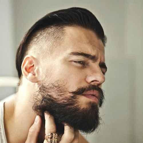 barba hollywoodiana para hombres