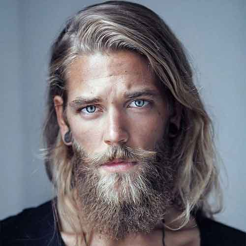 barba larga para hombres