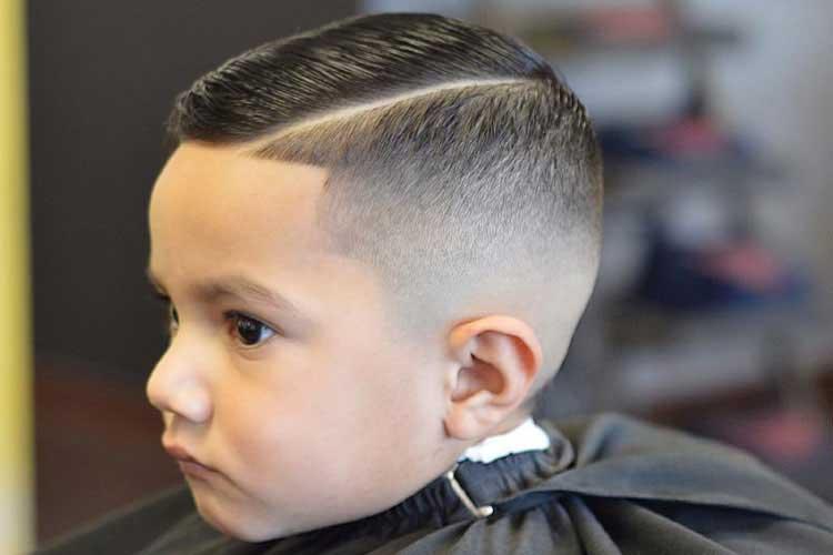 como cortar el pelo de los niños