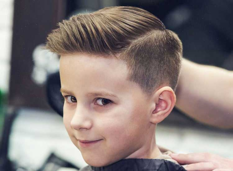 cortar cabello de niños en casa