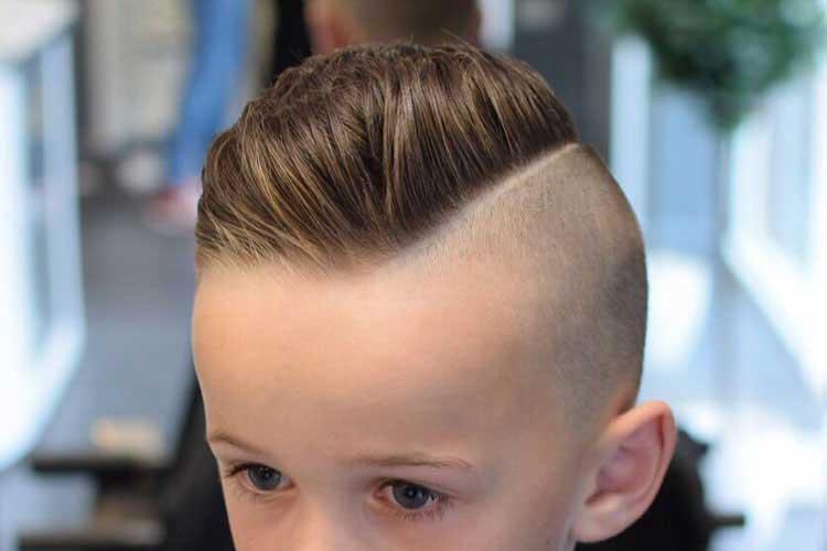 cortar el pelo de los niños