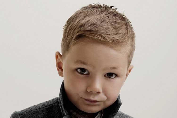 corte de pelo en capa niños