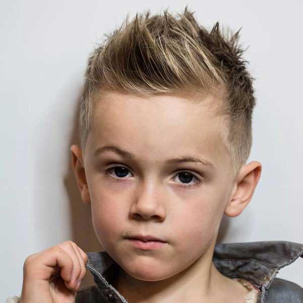 cabello con puntas niños