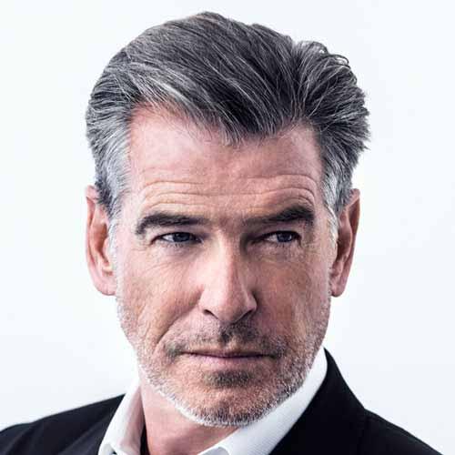 Corte de cabello para hombres maduros