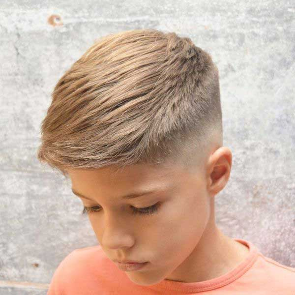 corte de pelo buzz y crew para niños