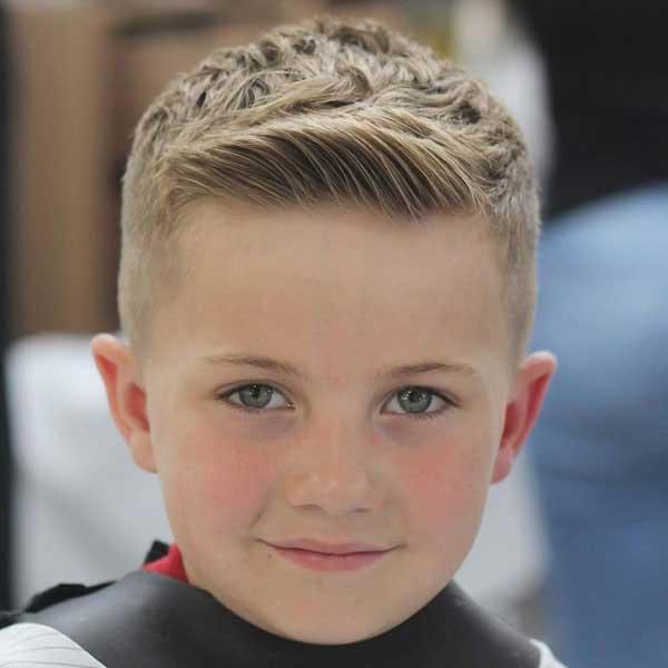 corte de pelo crew y buzz para niños