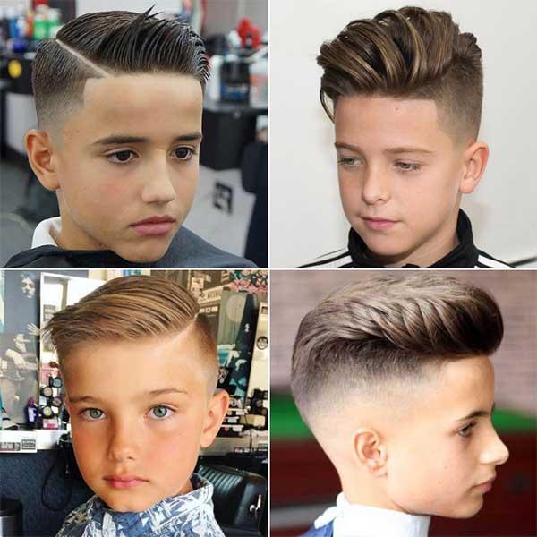 cortes de pelo niños 8 9 10 años
