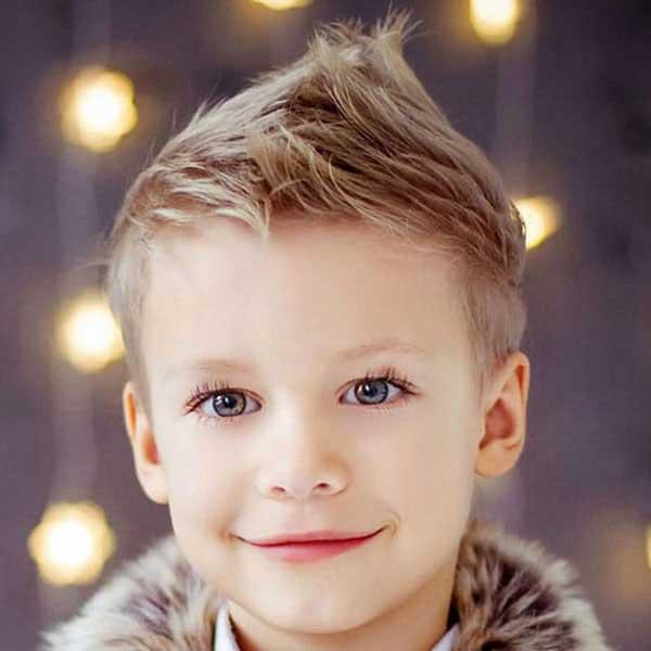 cresta mohicano cabello para niños