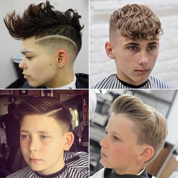 peinados a la moda para niños