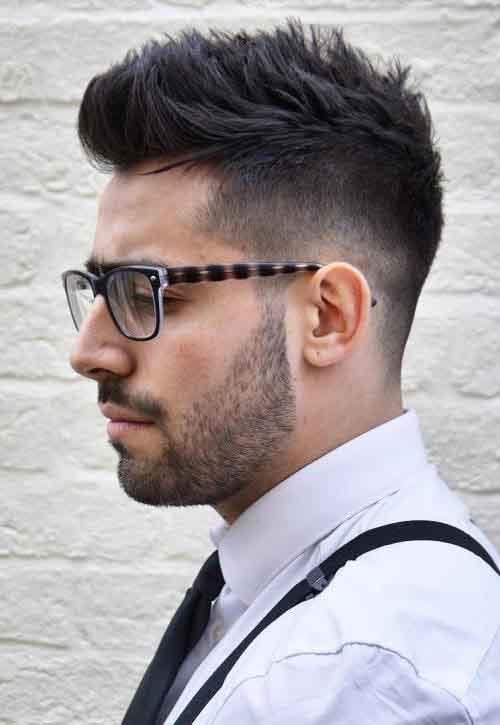 Cresta Clasica corte de pelo