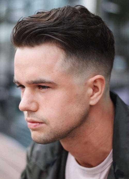 Skin Fade Medio corte de pelo