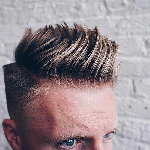 Cómo añadir volumen al cabello de los hombres