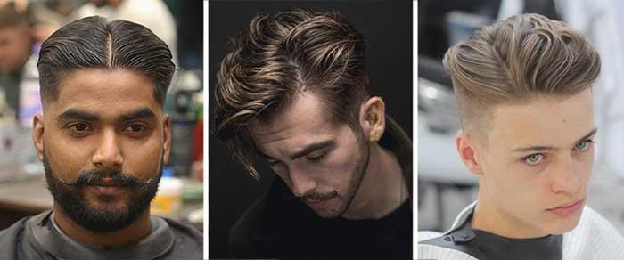 Cómo separar su pelo para los hombres
