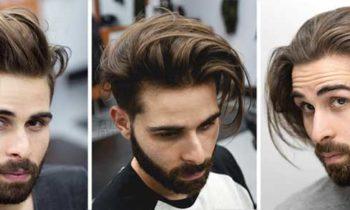 como peinar el cabello largo de los hombres