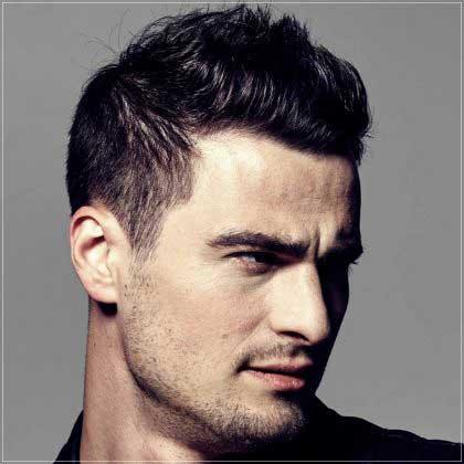 corte de pelo corto para hombre