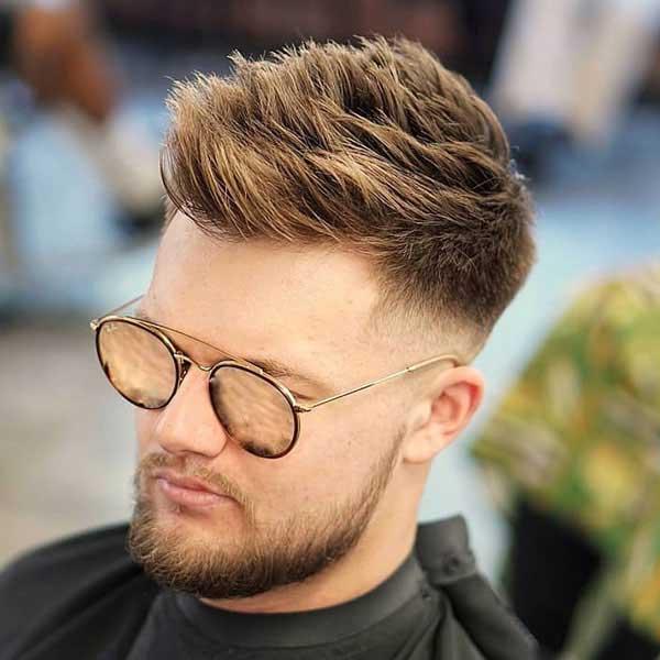 Corte de pelo con puntas