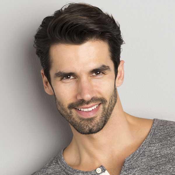 Peinado frío para cabello grueso