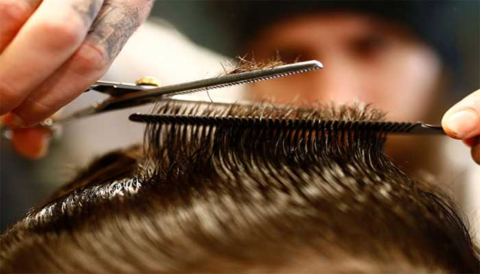 como cortar la parte superior del pelo