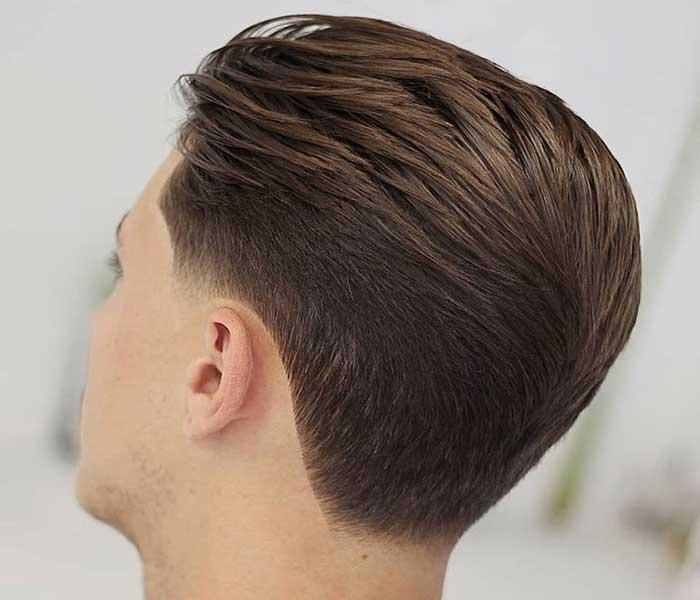 cortar el cabello con maquina recortadora